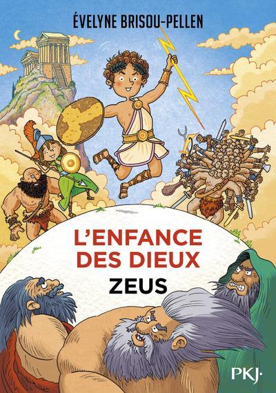 L'ENFANCE DES DIEUX T.1  -  ZEUS
