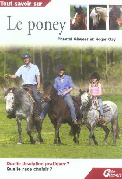 Tout savoir sur le poney