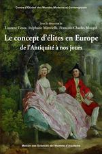 Le concept d´élites en Europe