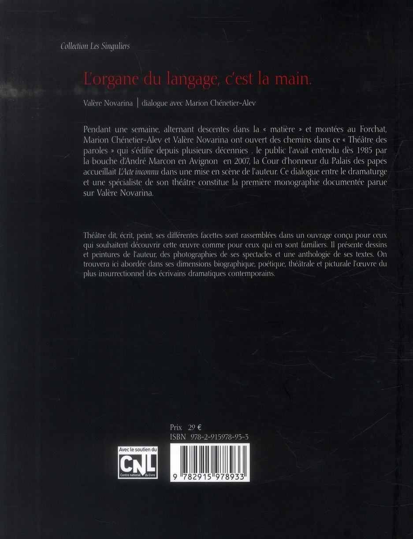 L'organe du langage, c'est la main ; dialogue avec Marion Chénetier-Alev