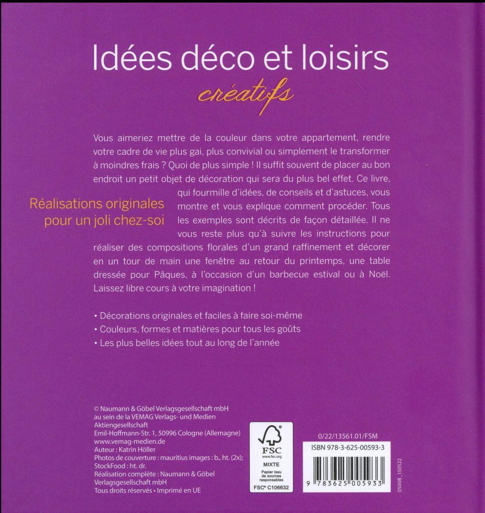 Idées déco et loisirs créatifs