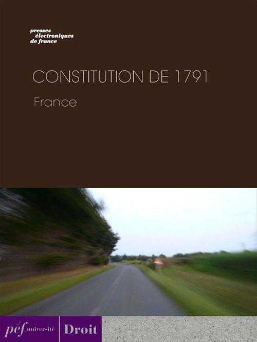 Constitution de 1791