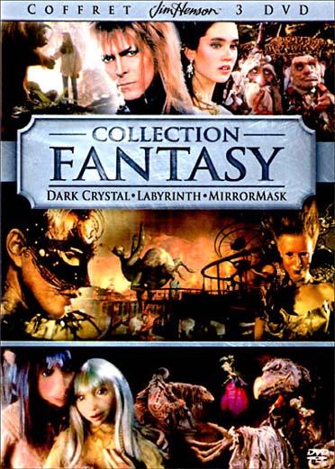 Collection Fantasy - MirrorMask + Dark Crystal + Labyrinthe