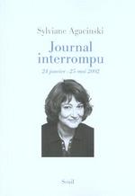 Couverture de Journal interrompu (24 janvier-25 mai 2002)