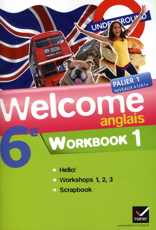 Anglais ; 6ème ; workbook en 2 volumes
