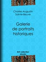 Vente EBooks : Galerie de portraits historiques  - Charles-Augustin SAINTE-BEUVE