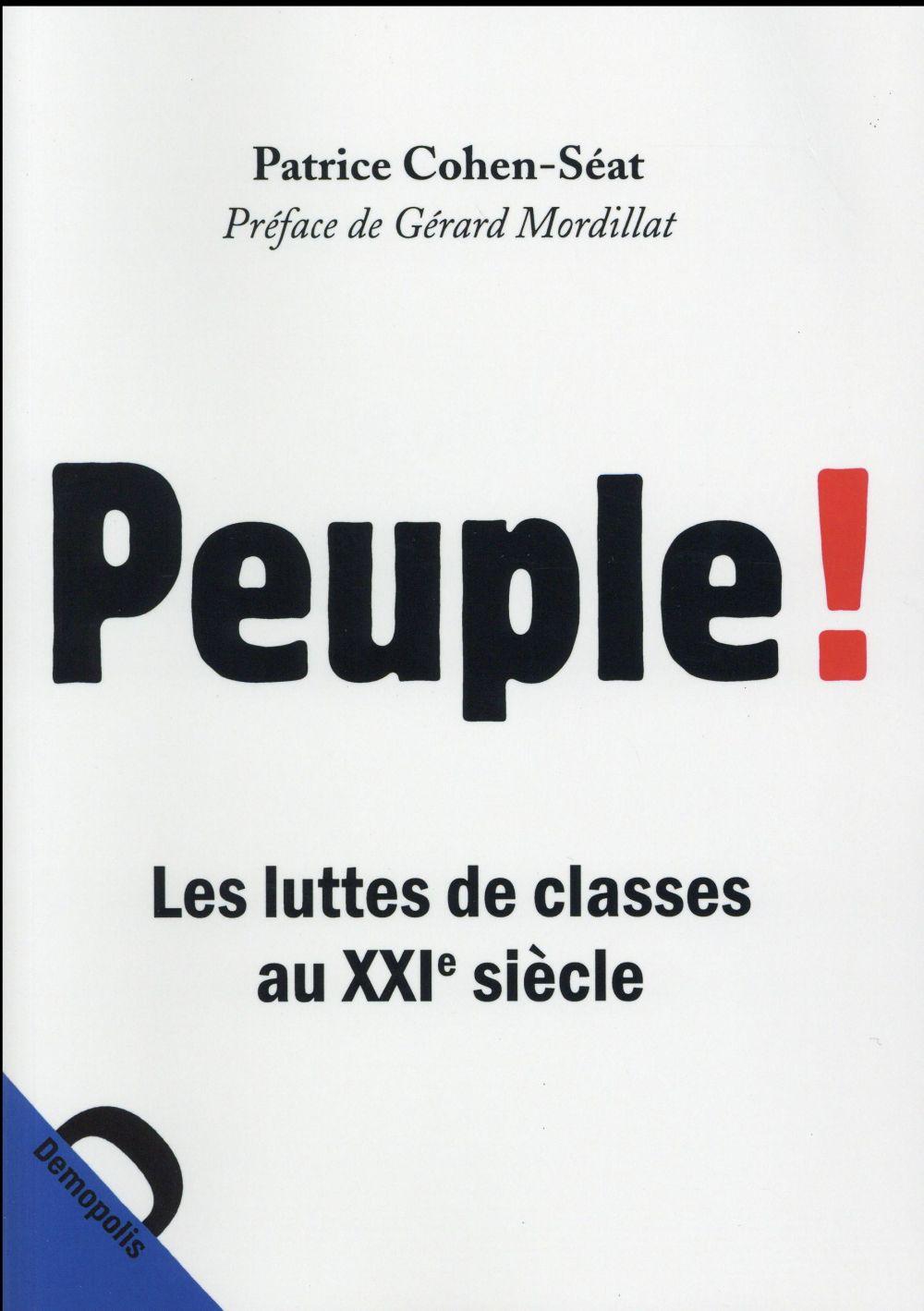 Peuple! les luttes de classes au XXI siècle