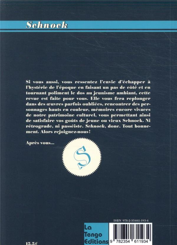 REVUE SCHNOCK n.38 ; Henri Salvador