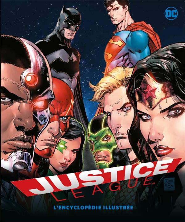 Justice League ; l'encyclopédie illustrée
