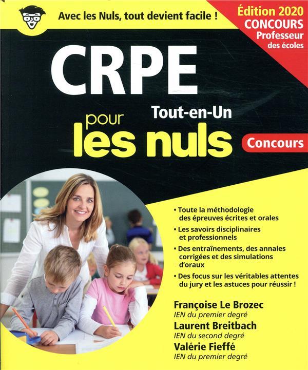CRPE pour les nuls ; concours (édition 2020)