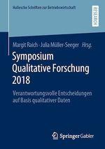 Symposium Qualitative Forschung 2018  - Julia Muller-Seeger - Margit Raich