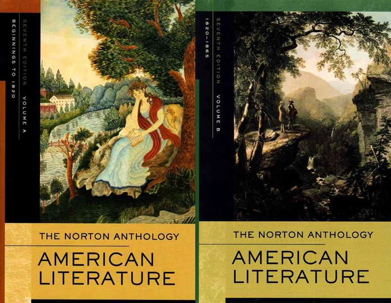 Norton anthology of american literature - volume a and b 7th revised edition