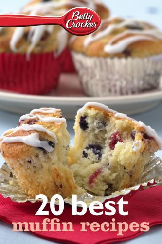 Betty Crocker 20 Best Muffin Recipes
