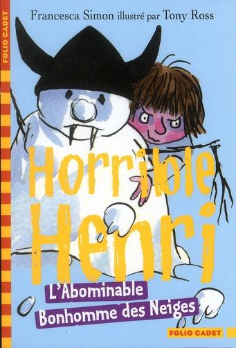 horrible Henri ; l'abominable bonhomme des neiges