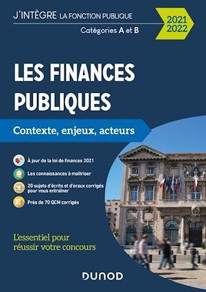 Les finances publiques 2021-2022