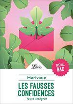 Vente EBooks : Spécial Bac 2021- Les Fausses Confidences  - MARIVAUX