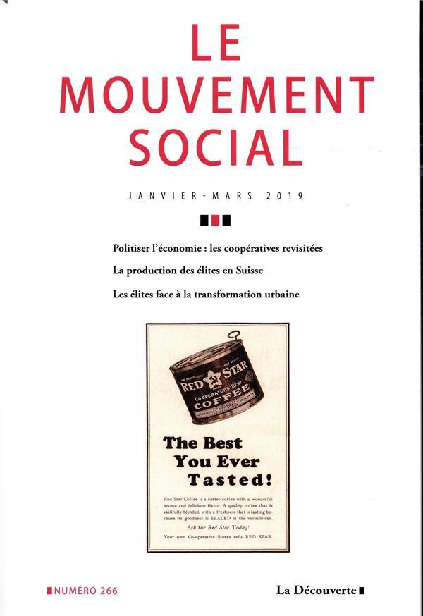 Revue le mouvement social n.266 ; varia