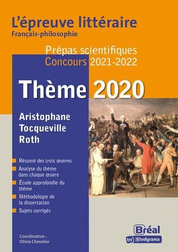 épreuve littéraire 2021-2022 ; prépa scientifique (édition 2021/2022)