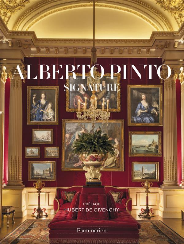 Alberto Pinto, signature