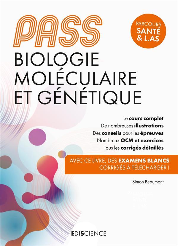 PASS biologie moléculaire et génétique