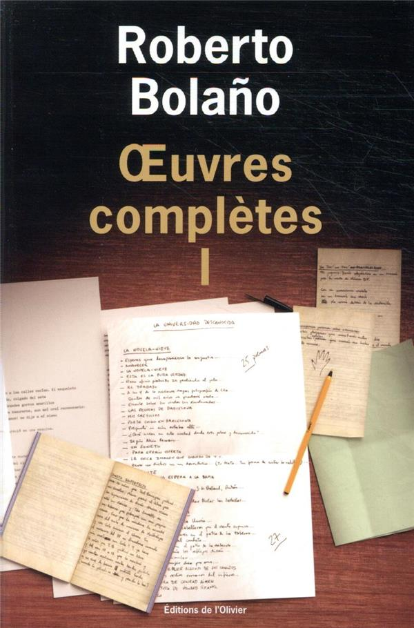 Oeuvres complètes t.1