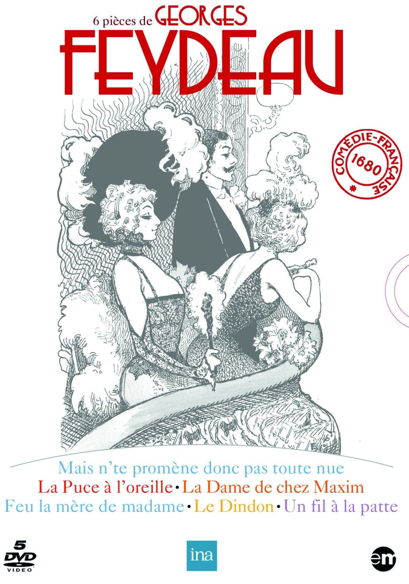6 pièces de Georges Feydeau