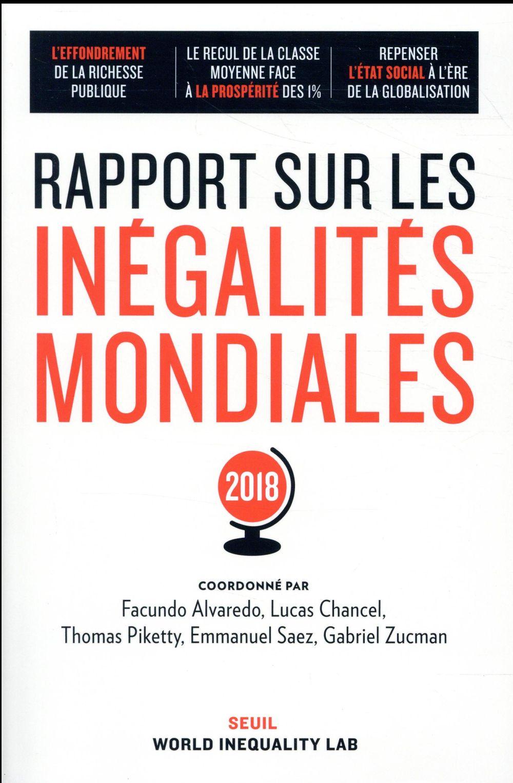 Rapport sur les inégalités mondiales (édition 2018)