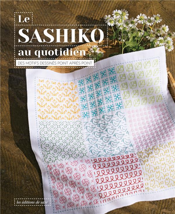 le sashiko au quotidien : des motifs dessinés point après point