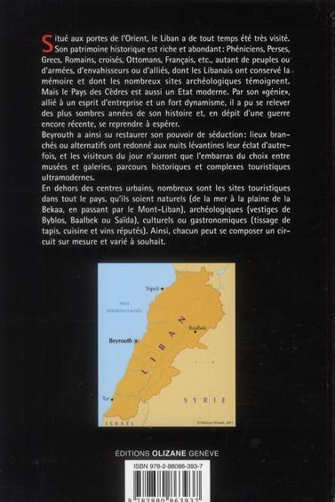 Guide Liban ; culture et art de vivre au pays des cèdres