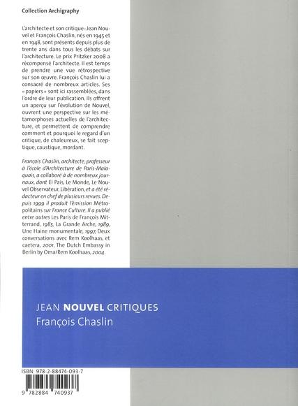 Jean Nouvel ; critiques