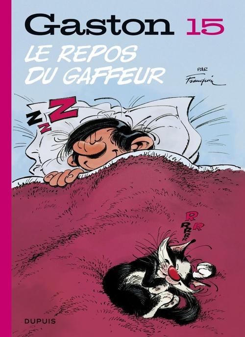 Gaston (Edition 2018) - tome 15 - Le repos du gaffeur (Edition 2018)