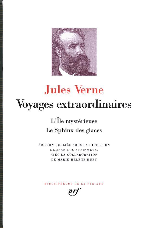 VOYAGES EXTRAORDINAIRES : L'ILE MYSTERIEUSE - LE SPHINX DES GLACES - L'ILE MYSTERIEUSE  LE SPHINX D