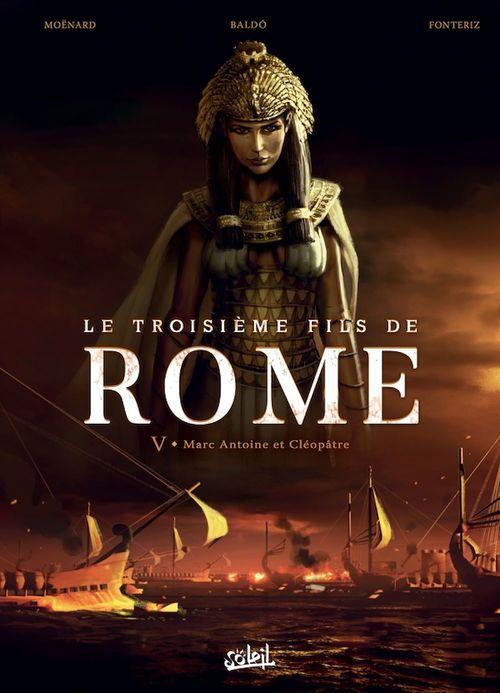 Le Troisième Fils de Rome T05  - Fernando Nicolas Baldo  - laurent Moënard  - Rafa Fonteriz