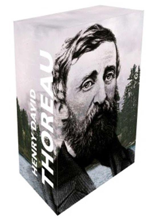 Coffret collector ; 13 écrits de Thoreau
