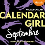 Vente AudioBook : Calendar Girl - Septembre
