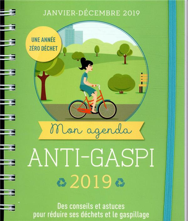 Mon agenda anti gaspi (édition 2019)