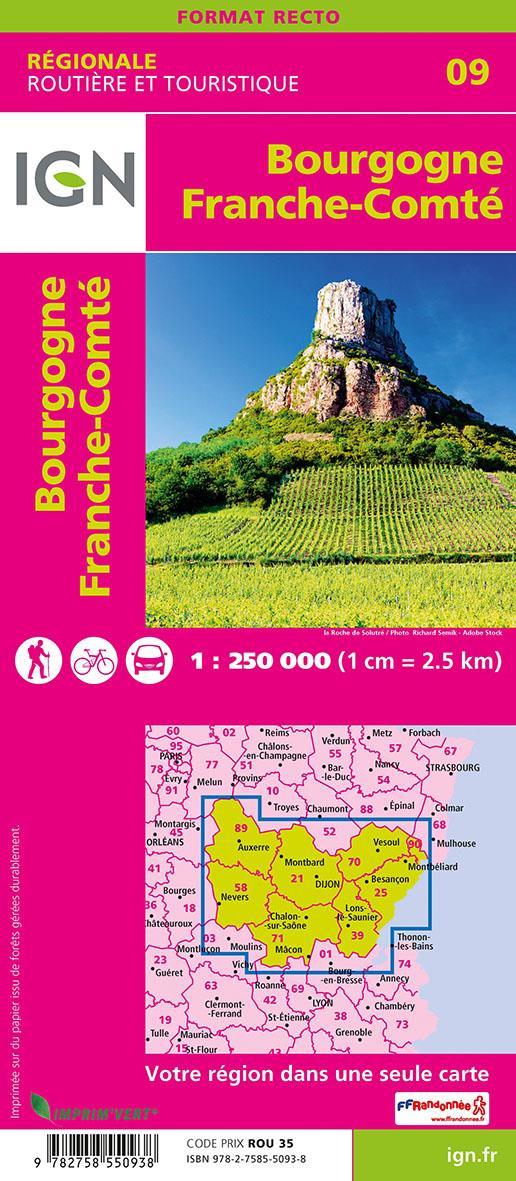 NR09 ; Bourgogne, Franche-Comté (2e édition)