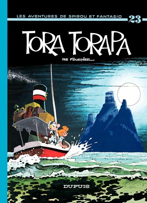 Les aventures de Spirou et Fantasio T.23 ; Tora-Torapa