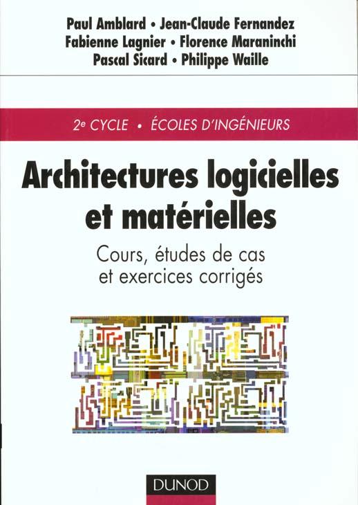Architectures logicielles et materielles