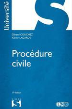 Vente EBooks : Procédure civile  - Gérard Couchez - Xavier Lagarde