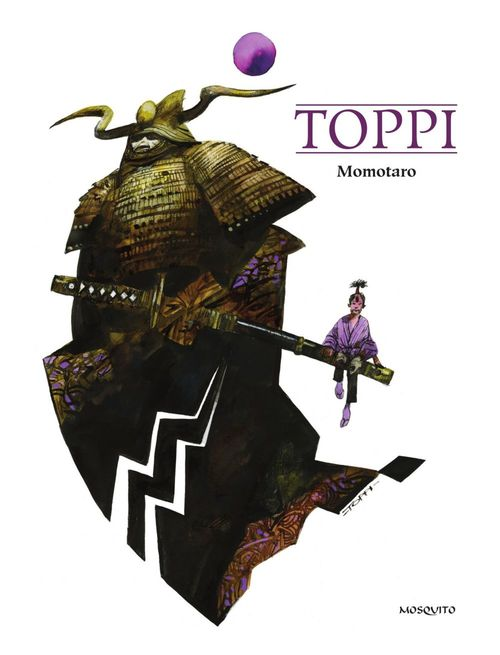 Vente EBooks : Momotaro  - Sergio Toppi