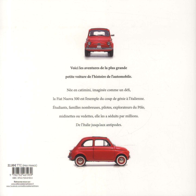 Fiat 500 ; la belle histoire du pot de yaourt italien