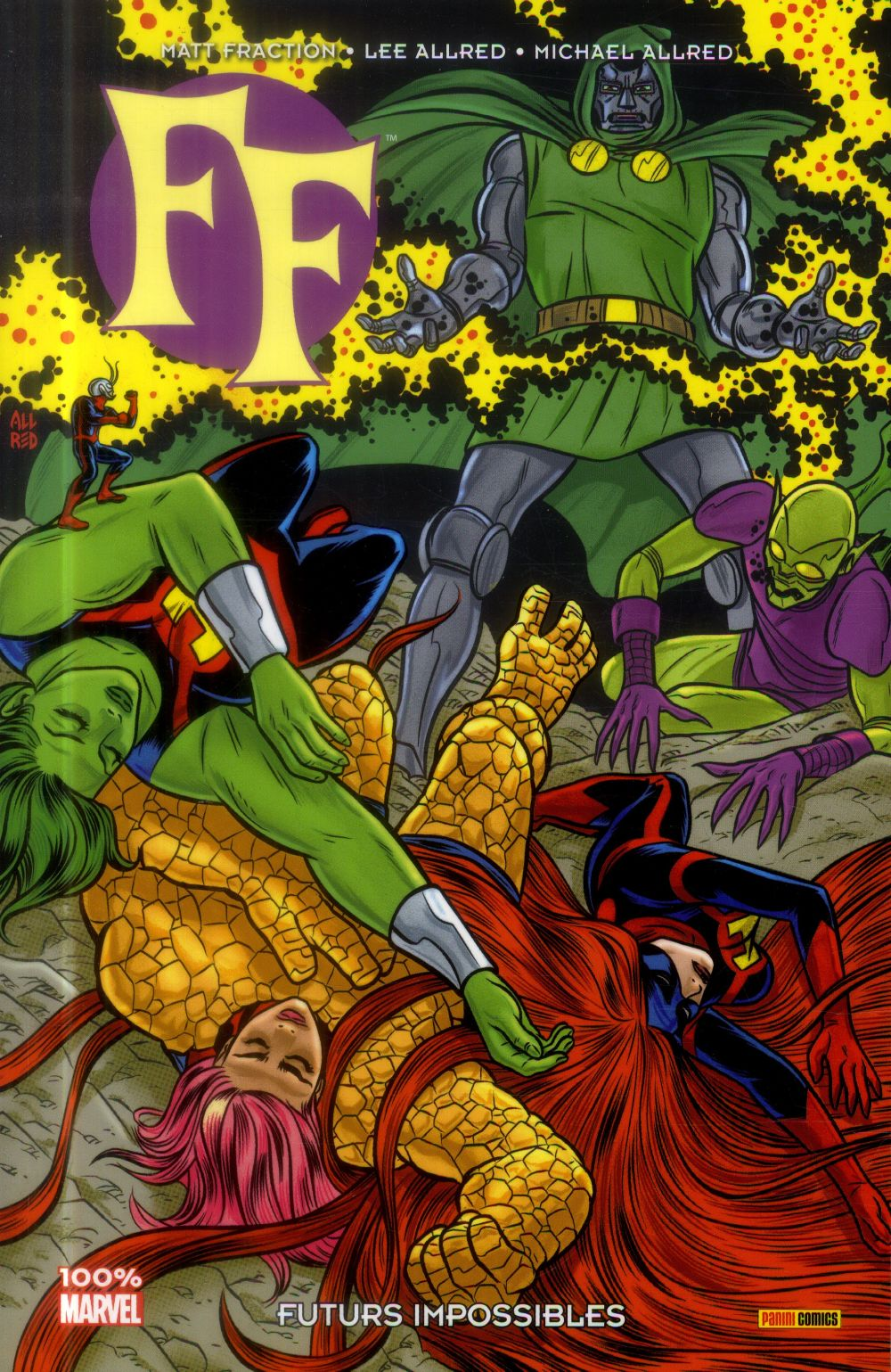 FF Marvel now ! t.2 ; futurs impossibles