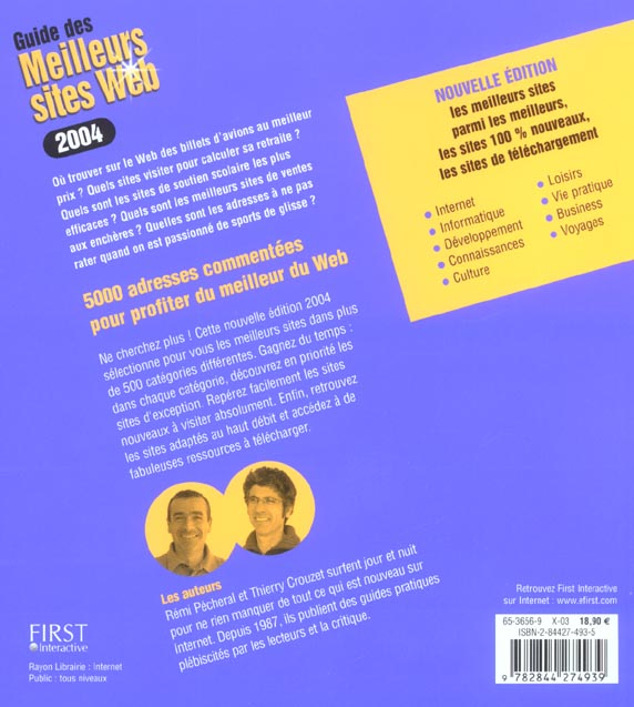 Guide des meilleurs sites web (édition 2004)