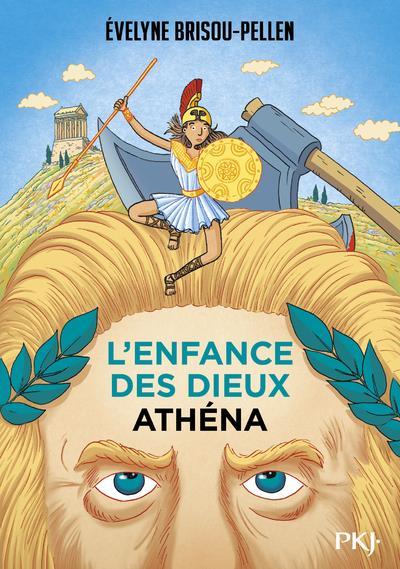 L'ENFANCE DES DIEUX T.2  -  ATHENA