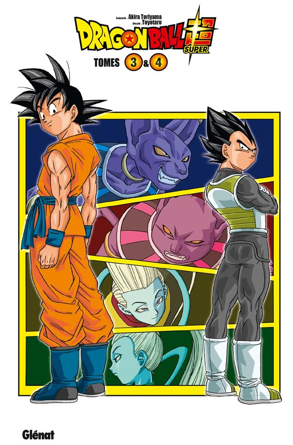 Dragon Ball Super ; coffret vol.2 ; t.3 et t.4