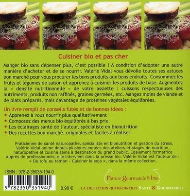 Cuisiner bio et pas cher