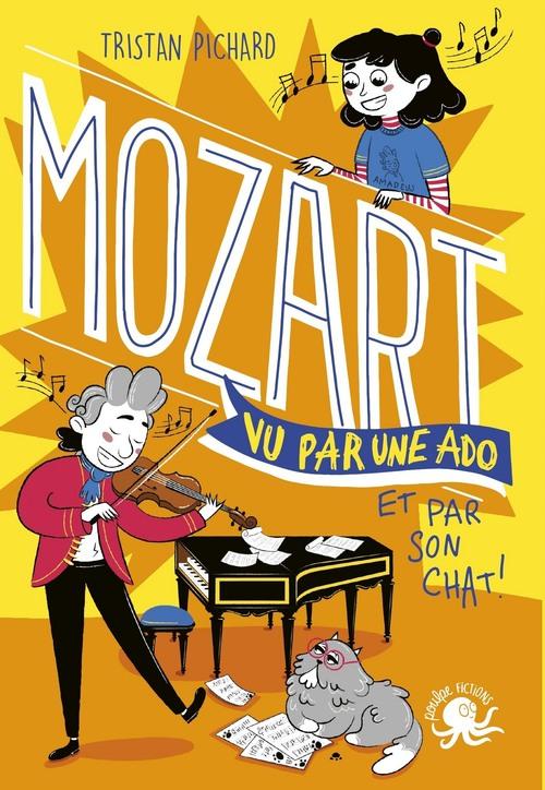 100% bio ; Mozart vu par une ado et par son chat !