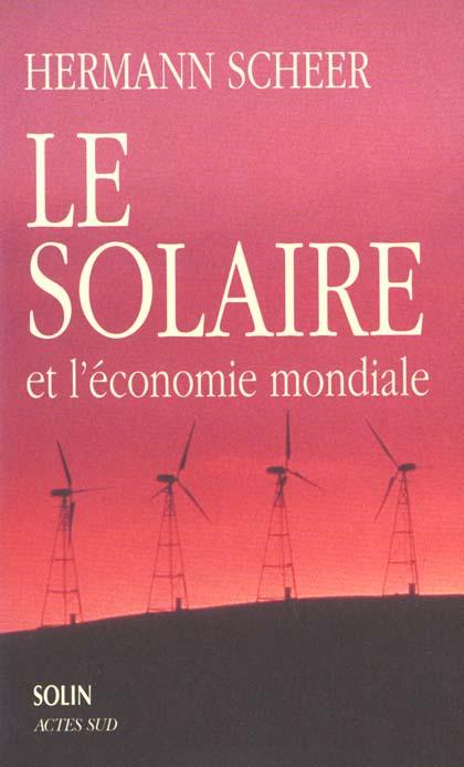 Le Solaire Et L'Economie Mondiale