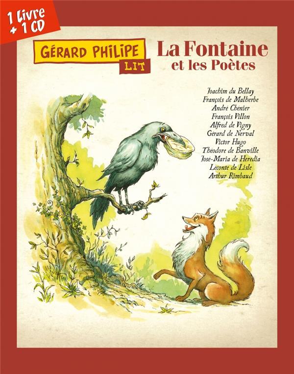 GERARD PHILIPE LIT LA FONTAINE ET LES POETES